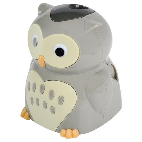 Купить Berlingo Точилка электрическая Owl серый, Точилки