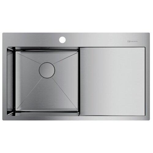 Врезная кухонная мойка 86 см OMOIKIRI Akisame 86-IN-L нержавеющая сталь врезная кухонная мойка 78 см omoikiri akisame 78 in l нержавеющая сталь