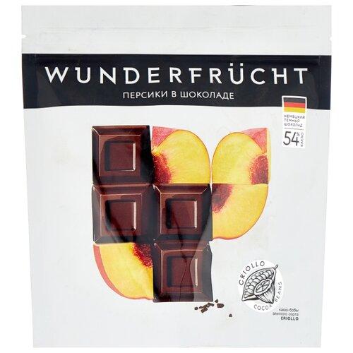 Персики WUNDERFRUCHT в шоколаде, 180 г