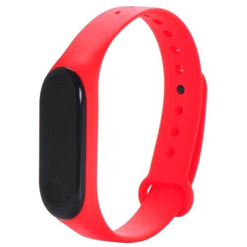 Gurdini Ремешок силиконовый для Xiaomi Mi Band 3 красный