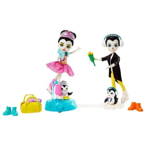 Купить Игровой набор Enchantimals Darling Ice Dancers Танцы на льду, GJX49, Куклы и пупсы