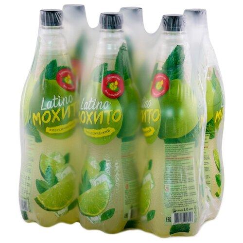 Газированный напиток Мохито Latino Классический, 1 л, 6 шт. свеча мохито