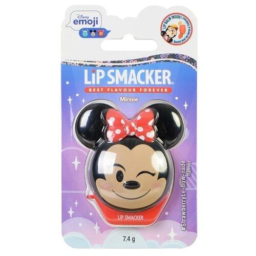Lip Smacker Бальзам для губ Disney Minnie Strawberry lemonade lip smacker бальзам для губ sprite