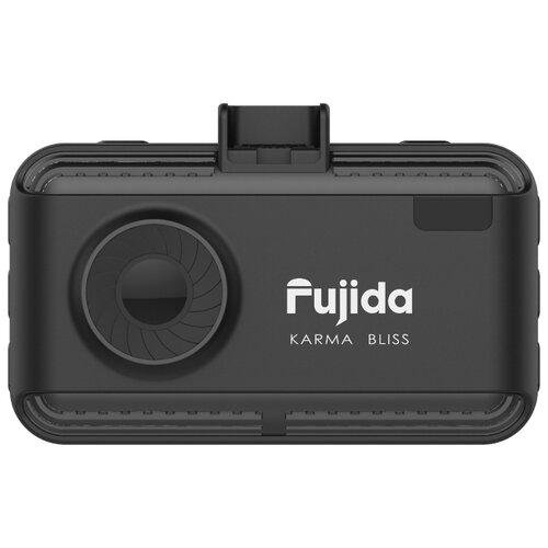 Видеорегистратор с радар-детектором Fujida Karma Bliss WiFi, GPS, ГЛОНАСС черный радар детектор fujida magna