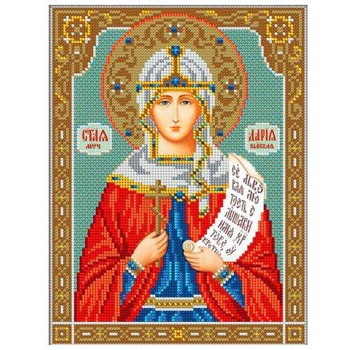 Вышиваем бисером Набор для вышивания бисером Святая Дарья 20 х 26,5 см (L-126) набор для вышивания иконы вышиваем бисером l 68 святой пантелеймон целитель
