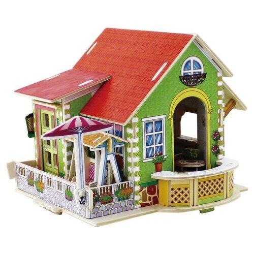 Купить 3D деревянный пазл Вилла мечты Спальная с мебелью, Robotime, Сборные модели