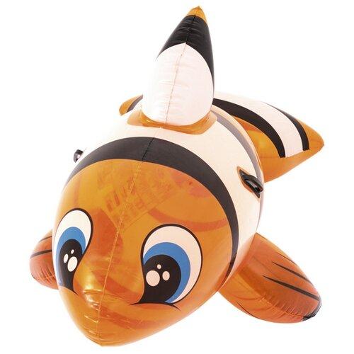 Купить Игрушка-наездник Bestway Рыба-клоун 41088 BW оранжевый, Надувные игрушки