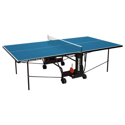 цена на Стол для улицы всепогодный Donic Outdoor Roller 600 синий 274х152х76