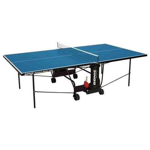 Стол для улицы всепогодный Donic Outdoor Roller 600 синий 274х152х76