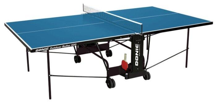 Всепогодные теннисный стол Donic Outdoor Roller 600 blue