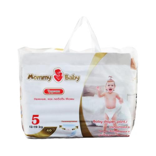 Купить Mommy Baby трусики 5 (12-19 кг) 40 шт., Подгузники