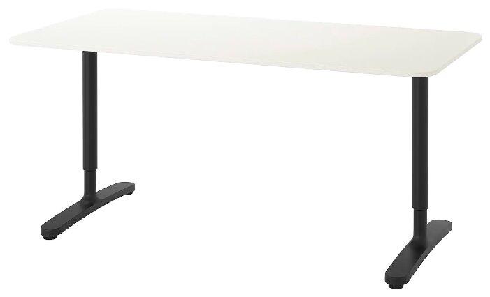 Письменный стол IKEA Бекант — 8 цветов — купить по выгодной цене на Яндекс.Маркете
