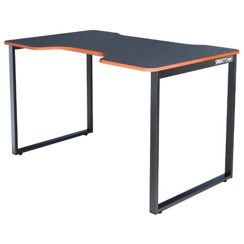Игровой стол Gravitonus Smarty One, 120х75 см, цвет: черный каркас/черно-оранжевый
