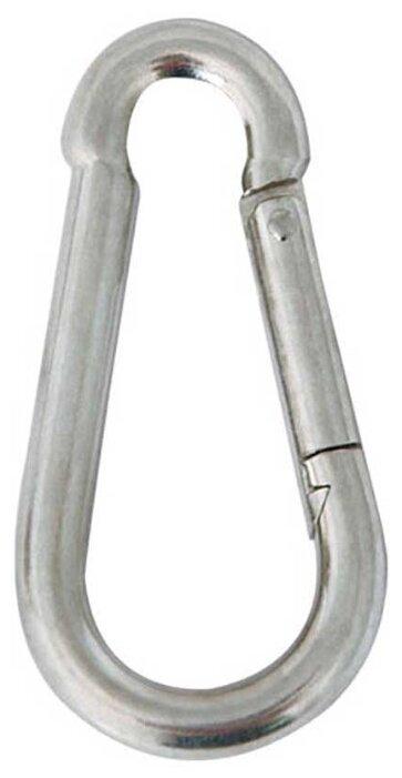 Карабин для поводка собаки Triol 65C альпинистский без замка 5 см х 5 мм