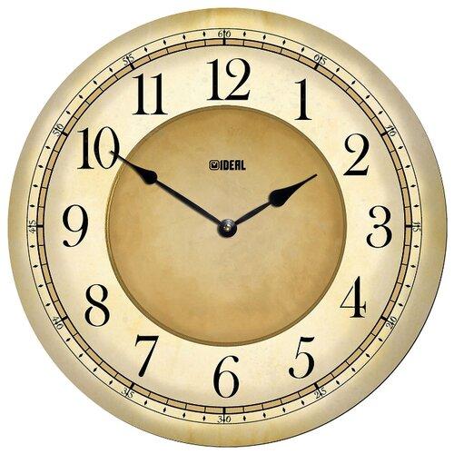 Часы настенные кварцевые Идеал Классика mdr1000-d420 бежевый часы настенные вега классика цвет бежевый п1 14 7 97