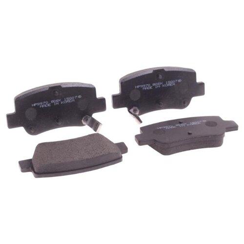 Фото - Дисковые тормозные колодки задние HONG SUNG BRAKE HP9970 для Toyota Avensis (4 шт.) дисковые тормозные колодки задние nibk pn1519 для toyota corolla toyota auris 4 шт