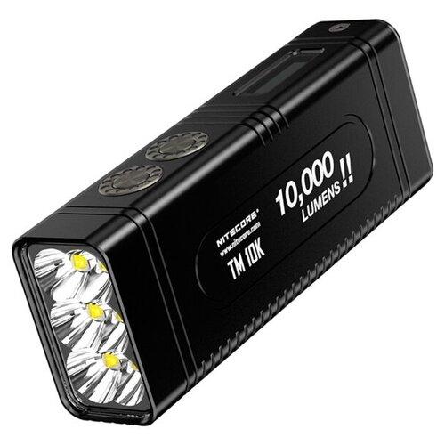 Фото - Ручной фонарь Nitecore TM10K черный тактический фонарь nitecore mh27 черный