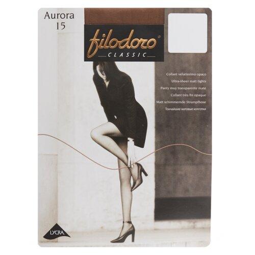 Колготки Filodoro Classic Aurora 15 den, размер 3-M, glace (коричневый) колготки filodoro classic dora 20 den размер 3 m glace коричневый