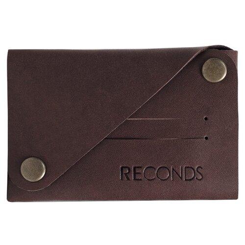 Кошелек Reconds Сompact, натуральная кожа шоколад кошелек reconds reconds mp002xu02f9z