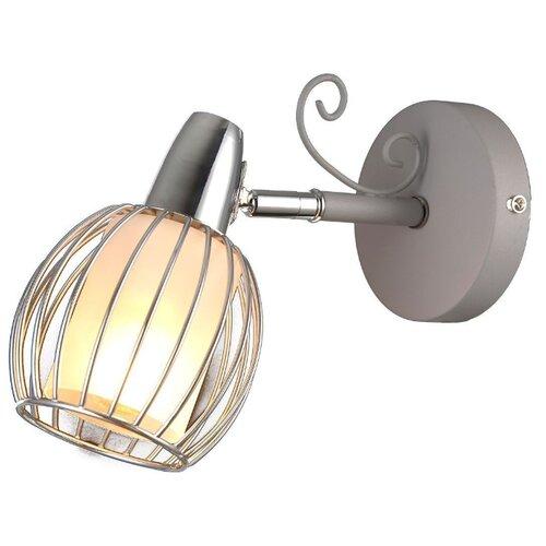 Настенный светильник Natali Kovaltseva Oslo 81041-1W Stain Gray, 40 Вт бра natali kovaltseva 10742 1w palisander