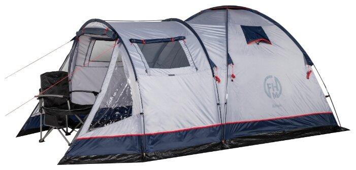 Палатка кемпинговая FHM GROUP Altair 3, синий/серый