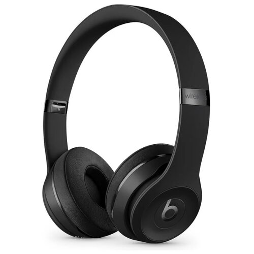 Беспроводные наушники Beats Solo3 Wireless черный беспроводные наушники beats solo3 wireless атласное серебро