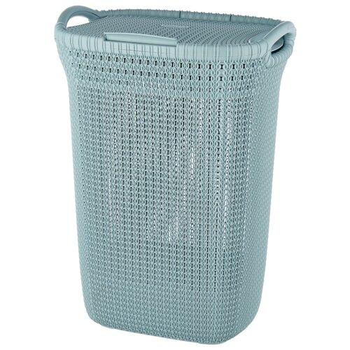 Фото - CURVER Корзина для белья Knit 62x45x34см серый корзина для хранения curver knit 3 л прямоугольная голубой