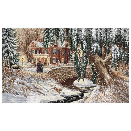 Dimensions Набор для вышивания Winter Lace (Зимние кружева) 43 х 25 см (35111), Наборы для вышивания  - купить со скидкой