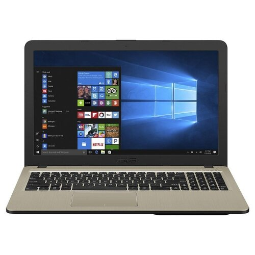 Купить Ноутбук ASUS VivoBook 15 K540UB-GQ1165T (Intel Pentium 4417U 2300 MHz/15.6 /1366x768/4GB/500GB HDD/DVD нет/NVIDIA GeForce MX110/Wi-Fi/Bluetooth/Windows 10 Home) 90NB0IM1-M16510 черный