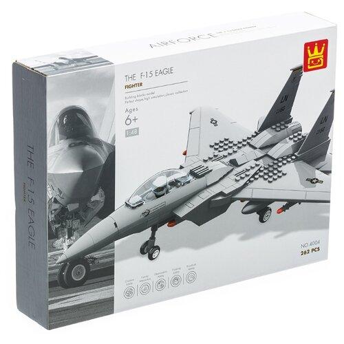Конструктор Wange Airforce 4004 Истребитель F15 Eagle цена 2017