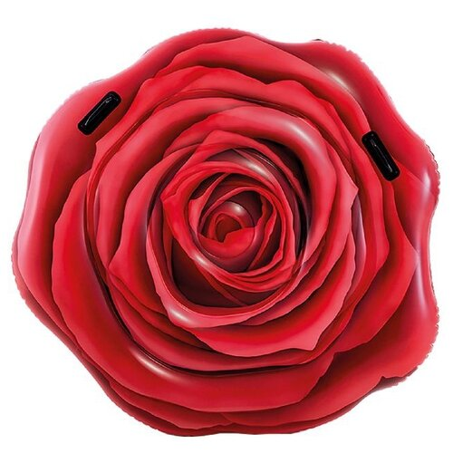 Матрас Intex Красная роза 132x137 см красный