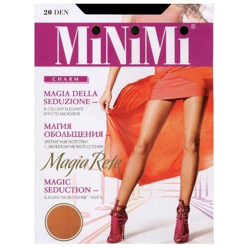 Колготки MiNiMi Magia Rete 20 den cappuccino 3-M (MiNiMi)Колготки и чулки<br>