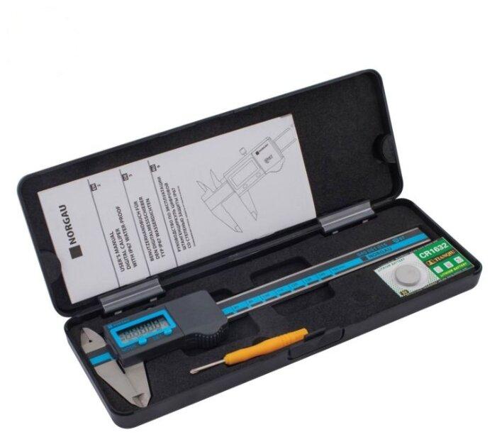 Цифровой штангенциркуль Norgau 040051015 150 мм, 0.01 мм