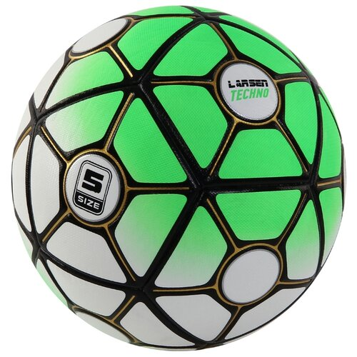 Фото - Футбольный мяч Larsen Techno green 5 мяч larsen duplex 5 301716