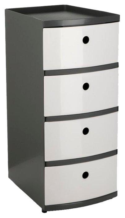 Комод TATAY напольный для хранения, с 4-мя выдвижными ящиками