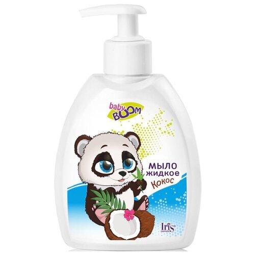 Купить IRIS cosmetic Baby Boom Мыло жидкое Кокос 300 мл, Средства для купания