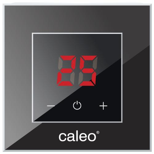 Фото - Терморегулятор Caleo Nova черный терморегулятор caleo 620 белый