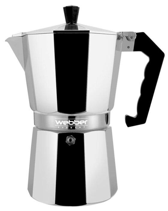 Кофеварка Webber BE-0121 на 3 чашки (150 мл)
