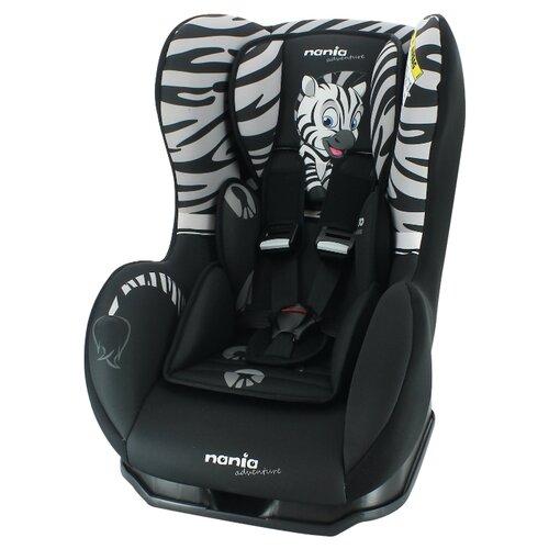 Автокресло группа 0/1 (до 18 кг) Nania Cosmo SP Animals, Zebra 2020 автокресло группа 0 1 до 18 кг nania driver animals zebra 2020