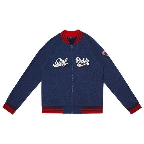 Олимпийка Chinzari размер 140/146, темно-синий меланж олимпийка chinzari размер 140 146 темно синий меланж