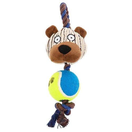 Игрушка для собак Пижон Медведь (3595200) мультиколор