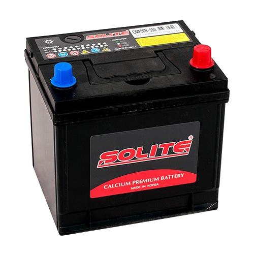 Автомобильный аккумулятор Solite CMF26R-550