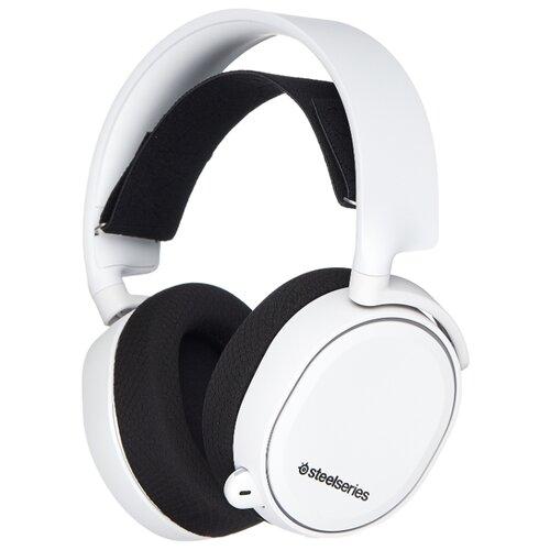 Компьютерная гарнитура SteelSeries Arctis 5 2019 Edition белый гарнитура