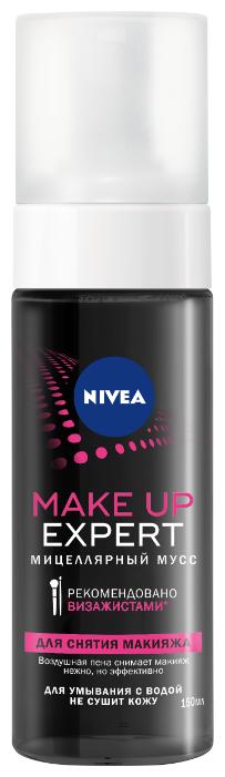 Nivea мицеллярный мусс Make Up Expert
