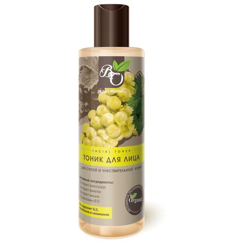 Bliss Organic Тоник для лица для сухой и чувствительной кожи, 200 мл