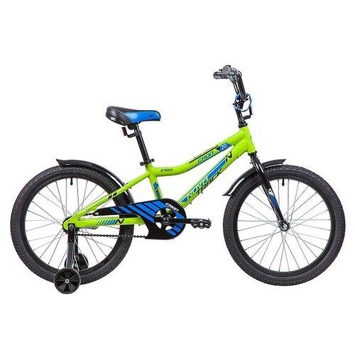 Фото - Детский велосипед Novatrack Cron 20 (2019) зеленый (требует финальной сборки) детский велосипед novatrack twist 20 2020 зеленый требует финальной сборки
