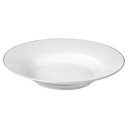 Тарелка суповая Esprado Alpino 22,5 см, костяной фарфор, набор 5 шт., ALP023WE301