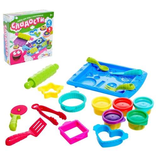Купить Эврики Набор для игры с пластилином Сладости , SL-02318 4324197, ЭВРИКИ, Пластилин и масса для лепки