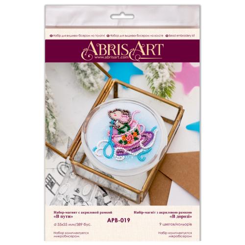 Купить ABRIS ART Набор-магнит для вышивания В дороге 5.5 х 5.5 см (АМА-066), Наборы для вышивания