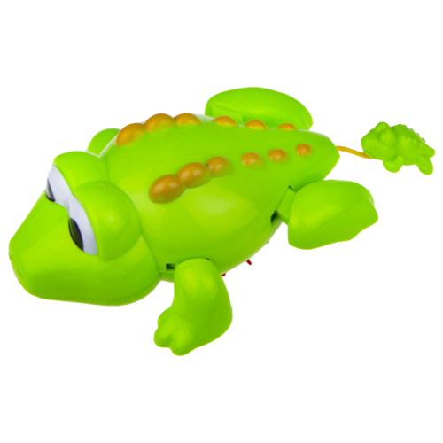 Игрушка для ванной 1 TOY Веселый заплыв. Крокодил (Т16831) зеленый игрушка для ванной tomy веселый пароход e72453 разноцветный